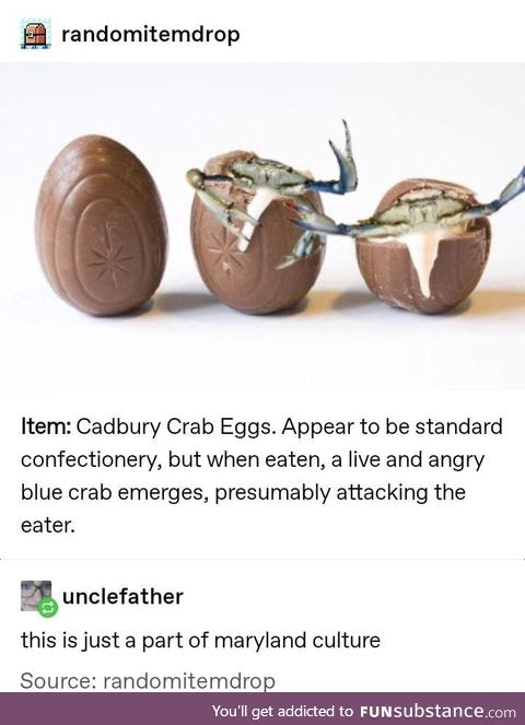 Beware the navy crustaceans
