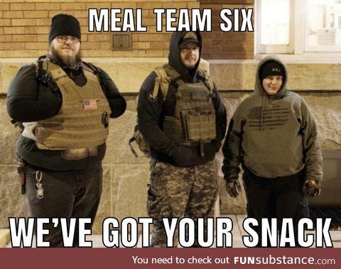 Full meal jacket