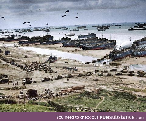 Today is the 76th anniversary of D Day