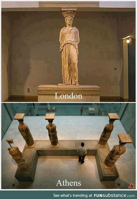 The lonely sister, london, british museum