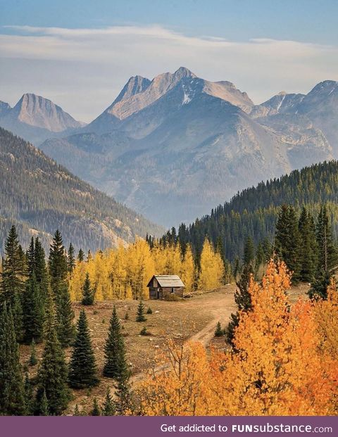 Breathtaking view of these mountains in Colorado