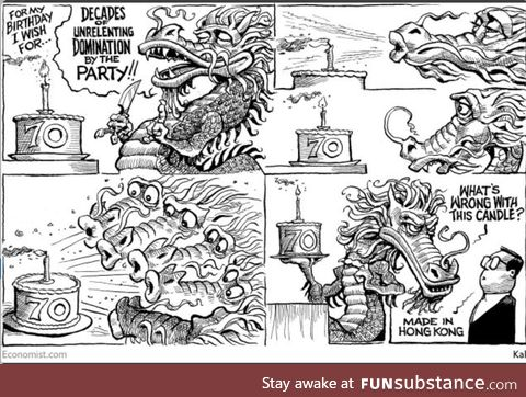 Weekly Cartoon from the Economist. Credits: The economist/KAL