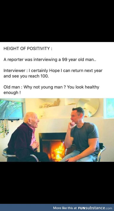 Optimism could be a factor in longevity
