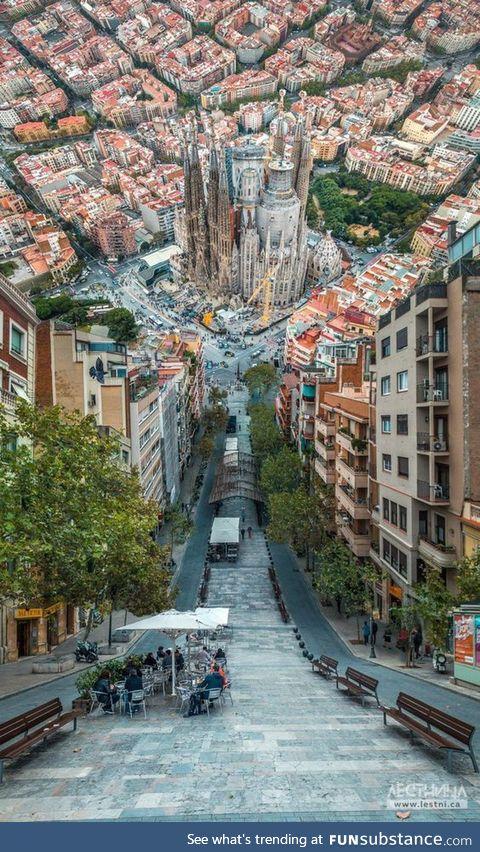 Barcelona, Spain meets Inception!