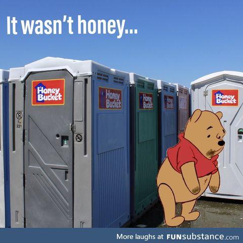 *sad Pooh noises*