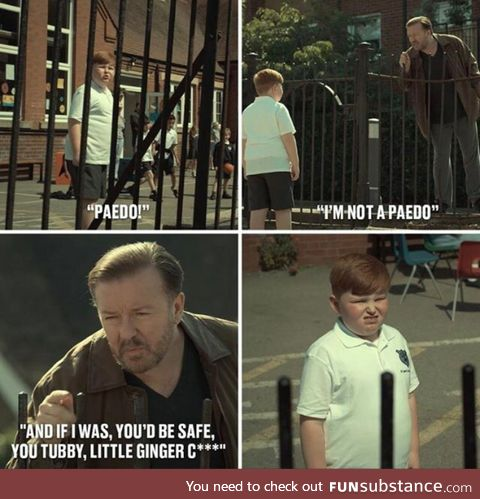 Ricky Gervais is a treasure