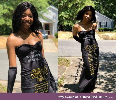Star Wars Evening Dress (Happy May 4th)