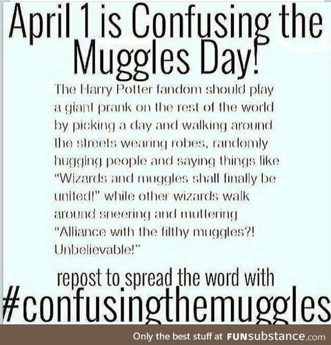 SPREAD THE WORD POTTERHEADS