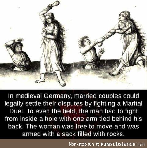 Medieval Germans seemed fun
