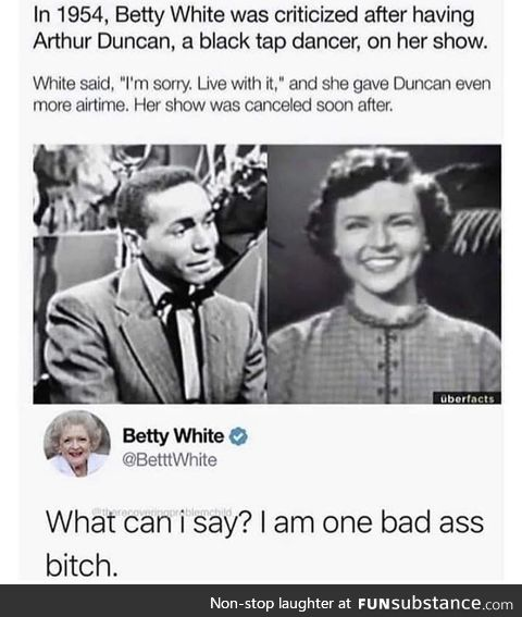 Betty white - badass (1954-2020)