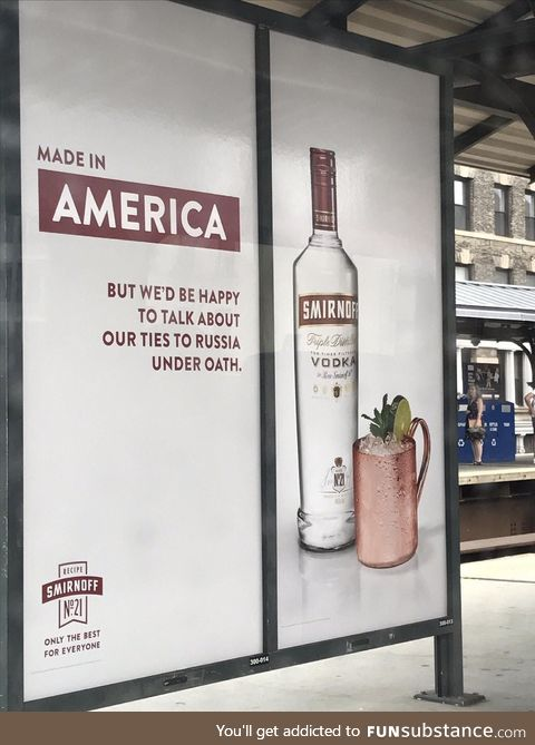 This smirnoff advertisement