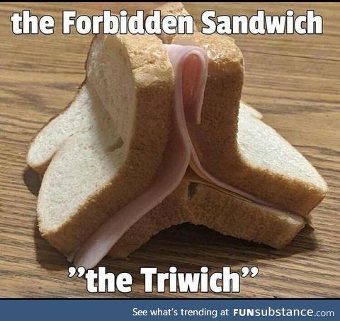 Forbidden sandwich