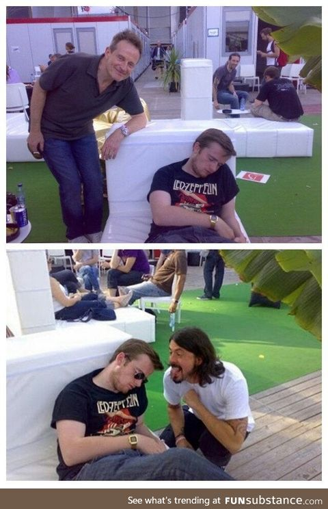 Led Zeppelin fan gets drunk, passes out backstage and misses out on chance to meet both