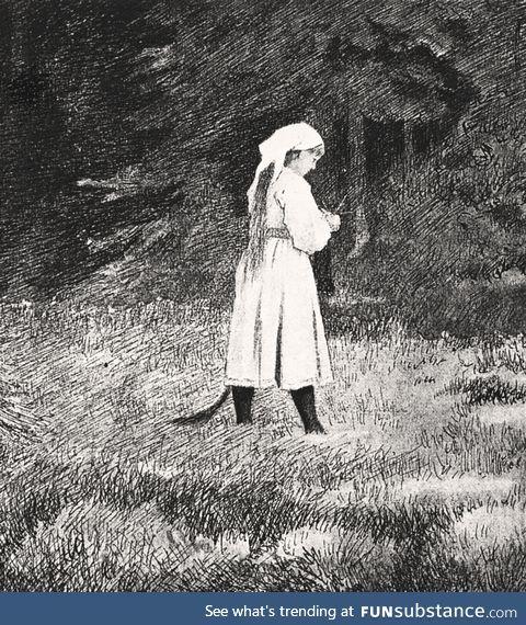 Huldra (Northern European folklore)