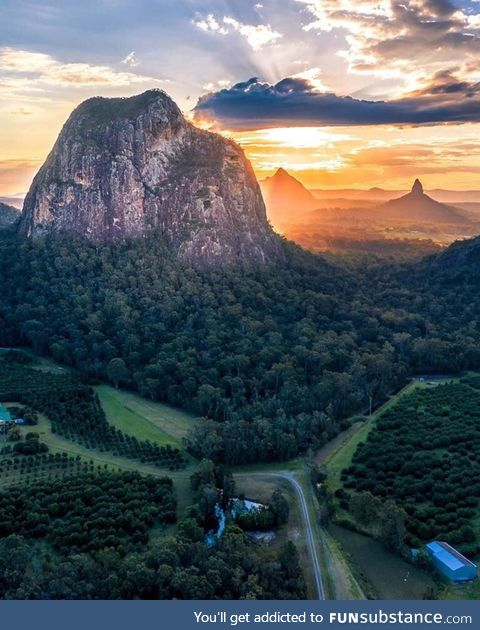 Glass house mountains, qld australia!