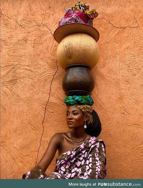 'Life is about Balance' Ghana. Photo by HAMAMAT