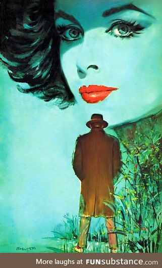Cool vintage cover art, Lou Marchetti.