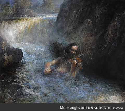 Fossegrim (Northern European folklore)
