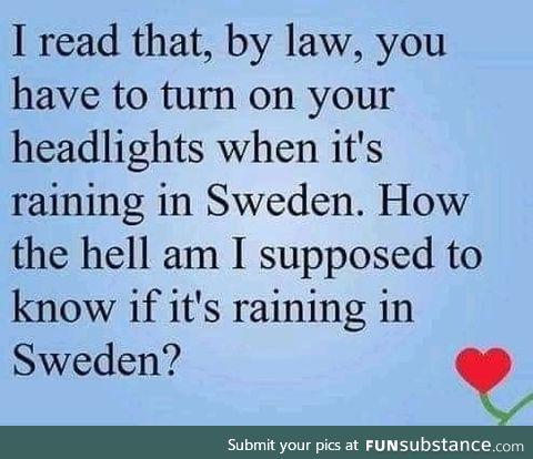 *checks weather app*
