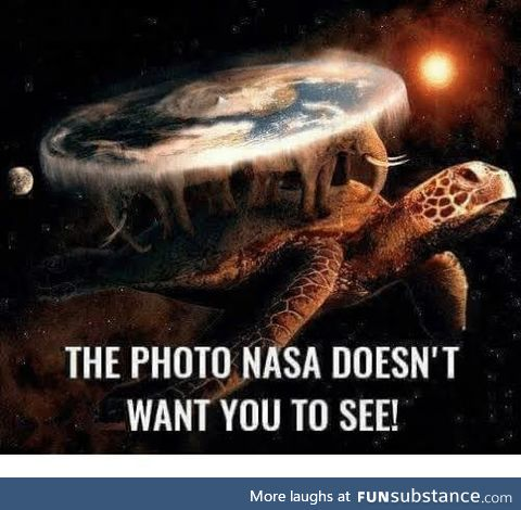 Actually, NASA lied to us