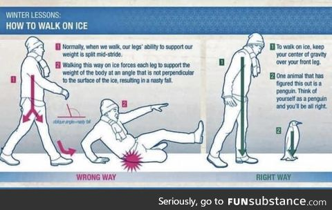 To walk on ice... You must become the penwang