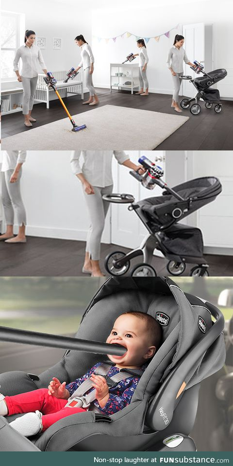 Baby crying a lot? Dyson has a solution