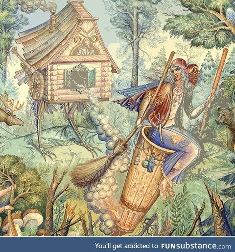 Baba Yaga (Slavic folklore)