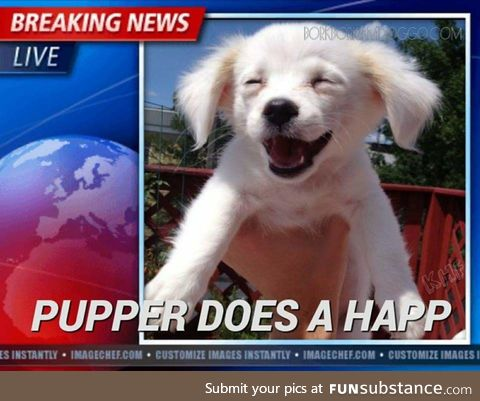 The only news worth mentioning