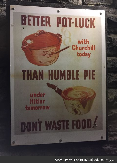 WW2 poster in GB