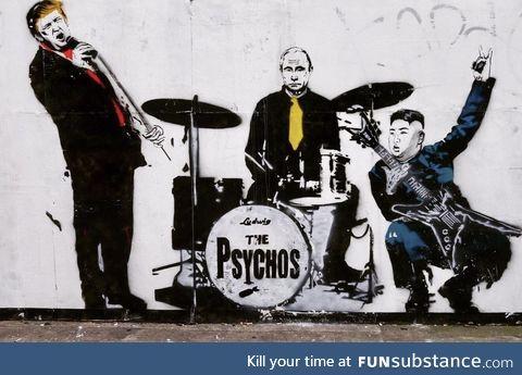 Psycho graffiti