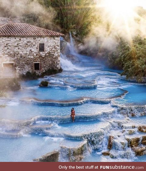 Natural Spa in Italy
