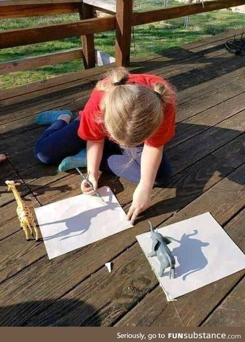 A clever way to painting
