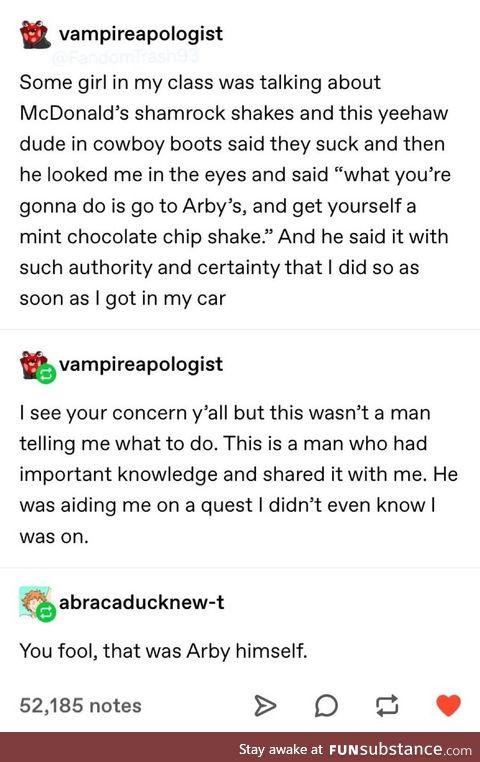 """""""mr arby"""""""