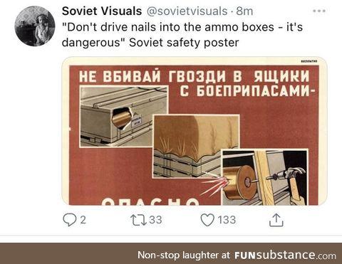 Soviet safe keeping