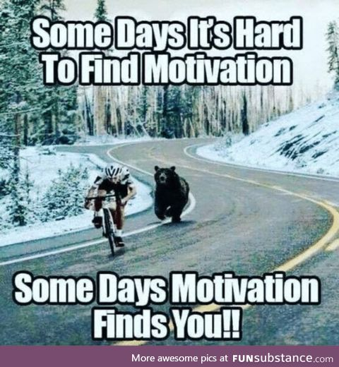 Here's how motivation works!!!! Hhhhhhh