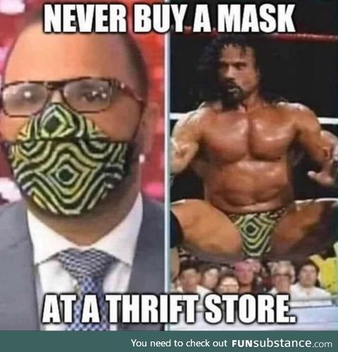 Be careful out there at the thrift shops!
