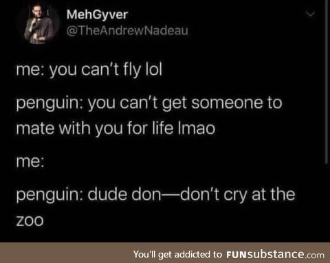Penguins hit too close to home