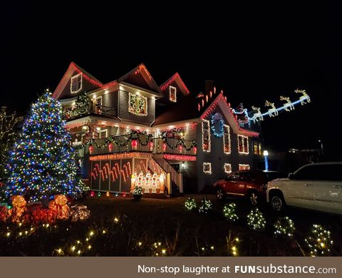 Eat your heart out, Clark Griswold