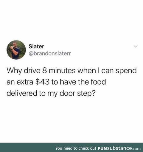 It's too convenient