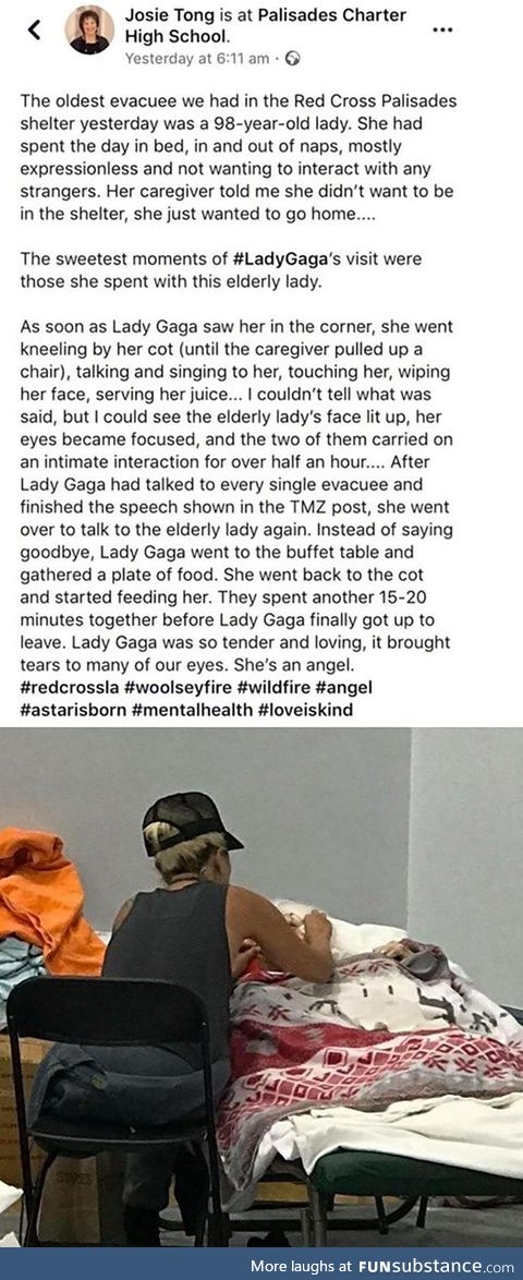 Gaga is good people