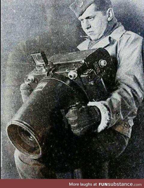 A Kodak camera used for aerial spy photography during WW2