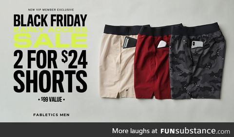 From working out to hanging out, Fabletics has you covered. Get 2 pairs of men's shorts
