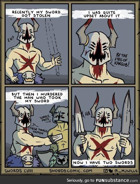 Sword ****
