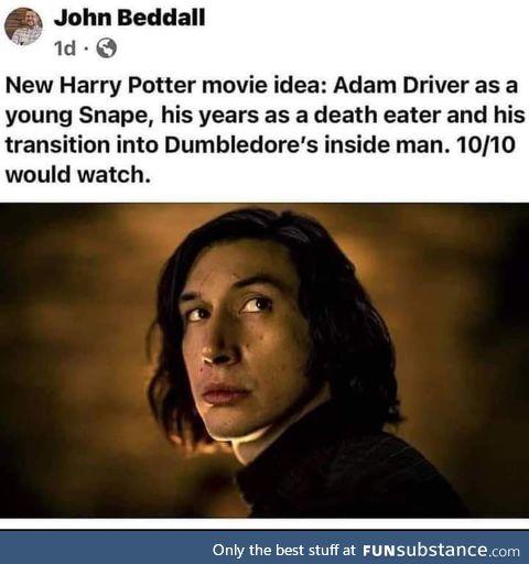 Harry's dad played by Elijah wood