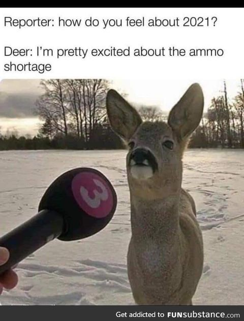 Ammo shortage and the hunt