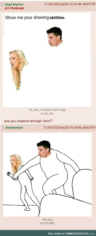 Anon is a Artist