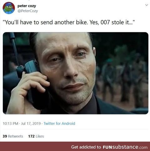 Remember black 007?