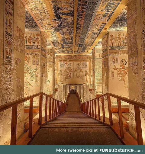 The Tomb of Ramesses VI, The Valley of the Kings, Egypt