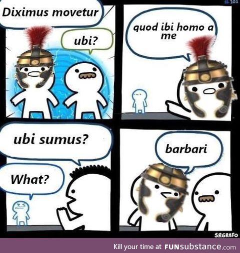 Ridiculam fabulam, non est hoc?