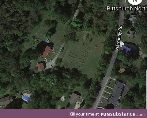 Found this while paroozing the neighborhood on Google Maps